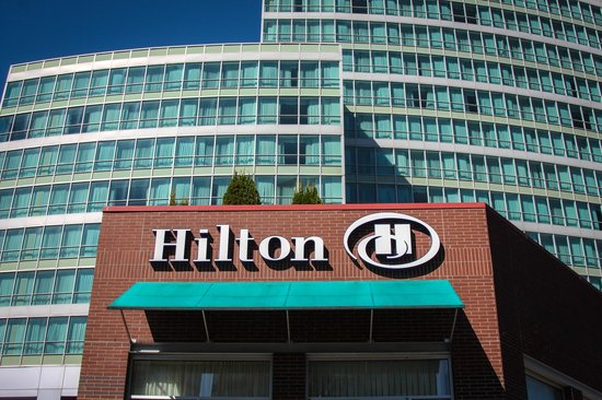 Hilton Vancouver Metrotown The Front Of