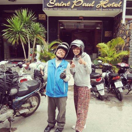 Original Easy Rider Vietnam: Mr Binh & Helen