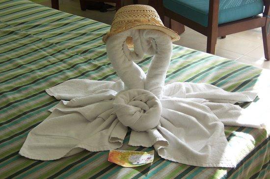 Hotel Playa Cayo Santa Maria: Towel art