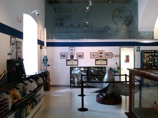Museo Naval: Exposición