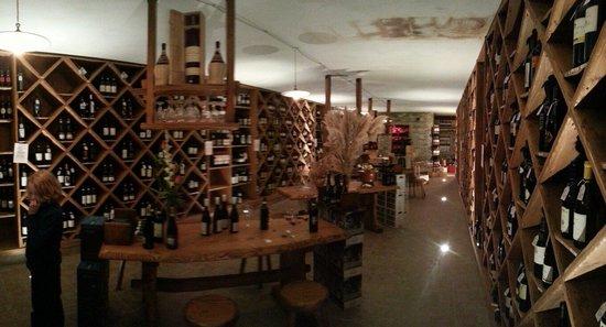 La MarendaSinoira: Weinkeller vom feinsten