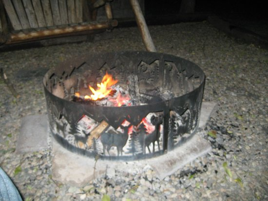Alpine Lodge & Hotel: Fire Pit