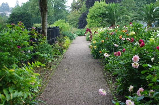 Torre Abbey Historic House and Gardens: The beautiful gardens at Torre Abbey,