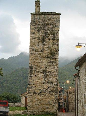Castello Della Pieve: Torre dell'antico Castello