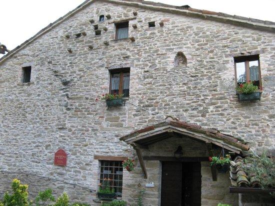 Castello Della Pieve: Esterno della Suite