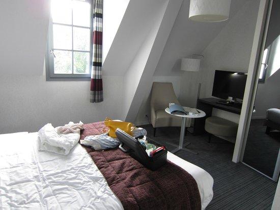 Domaine de Pont Aven - Art Gallery Resort : vue de la chambre