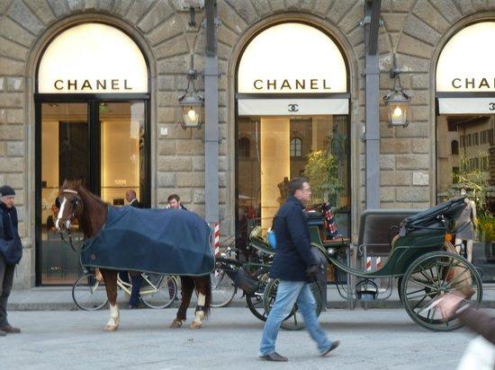 Pierre Hotel Florence : PIAZZA DE LA SIGNORIA