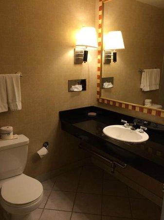 Skyline Hotel: Bathroom sink