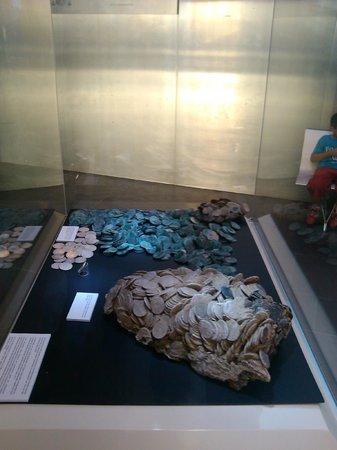 Museo Nacional de Arqueología Subacuática: Monedas del Nuestra Señora de las Mercedes