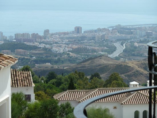 TRH Mijas: Side view from room 50 (hanging out the window!)