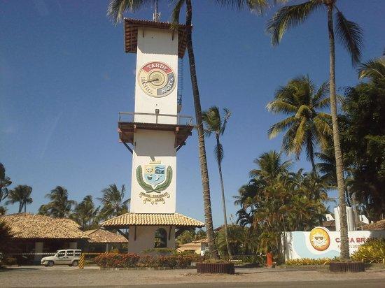 Cana Brava All Inclusive Resort: Entrada Cana Brava Resort Ilheus Bahia