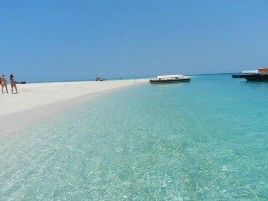 Dongwe Club : escursione lingua di sabbia