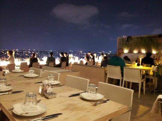 NuTeras: Excellent Rooftop - bar area