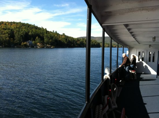 The M/S Mount Washington: Beautiful scenery