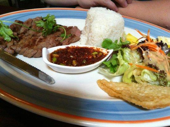 Basil Thai Restaurant: Crying Tiger