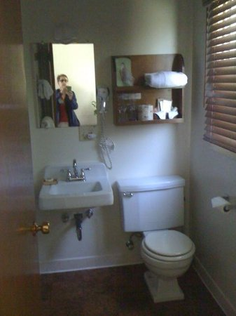 Westcliff Lodge: well maintained bathroom