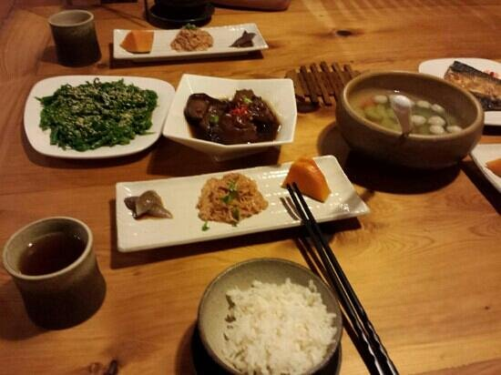 Old Five Guesthouse: yummy food