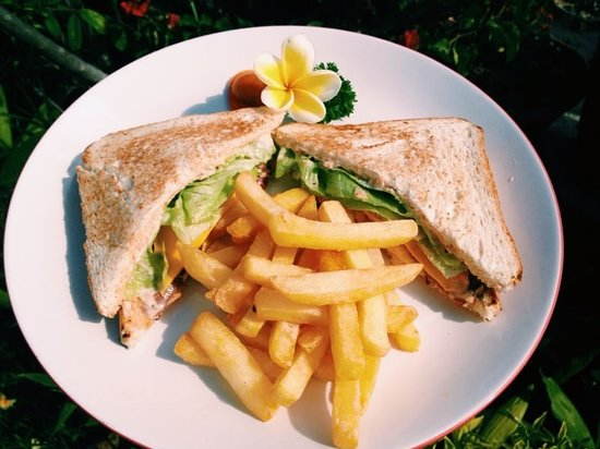Aninimal Book: Tuna Sandwich with French Fries - Picture of Roxalne ...