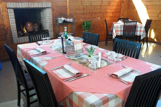 La Bruschetta: sala ristorante