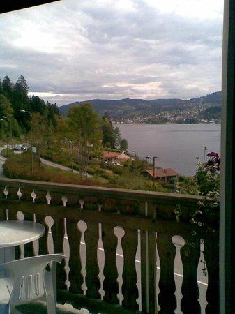 Les Reflets du Lac : vue de la chambre