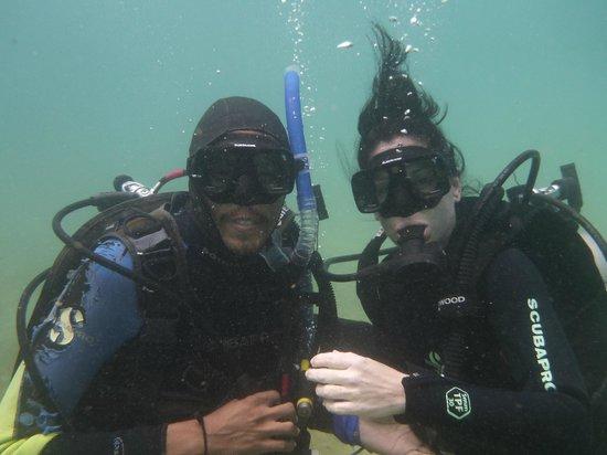 Galapagos Underwater: Jimbo and I