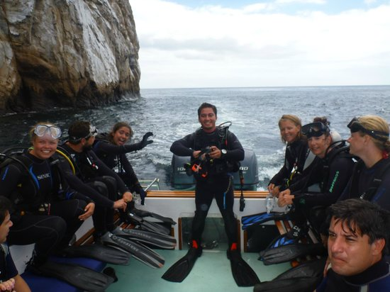 Galapagos Underwater : My first dive fully certified at Kicker Rock
