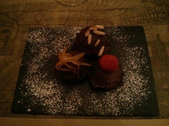 Alcova Del Frate: Chocolate Dessert