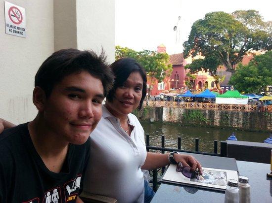Hard Rock Cafe Melaka: Table View