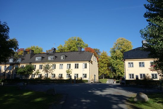 Hotel Skeppsholmen: Hotel's two main buildings
