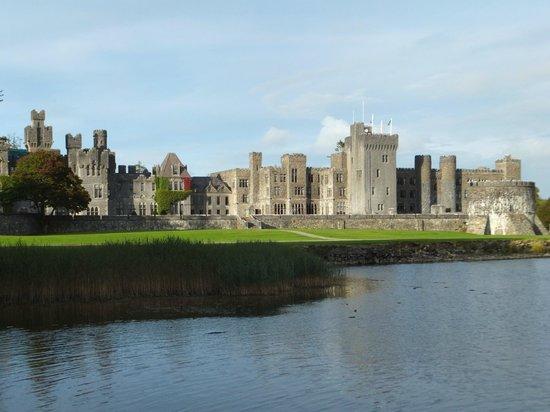 Ashford Castle: back view