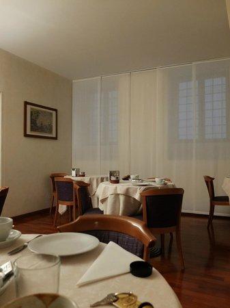 Hotel Due Mori : 朝食をとる場所です。