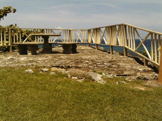 Carib-Ocho Rios: Lookout point.