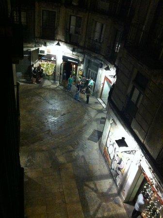 MapaMundo Barcelona: view from balcony