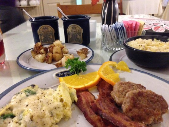 1898 Waverly Inn: Now that's breakfast