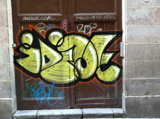 MapaMundo Barcelona: door