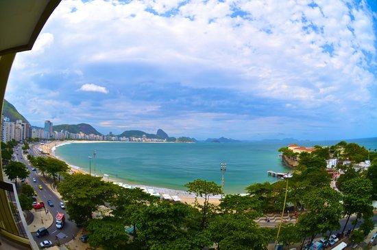 Sofitel Rio de Janeiro Copacabana: Sacada do quarto