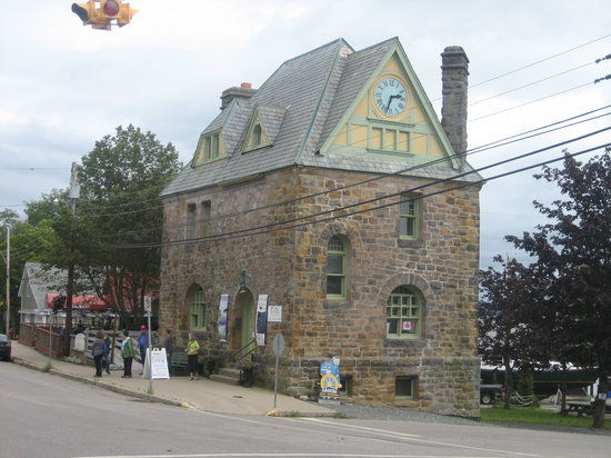 Bras d'Or Lakes and Watershed Interpretive Centre: Interpretive Centre