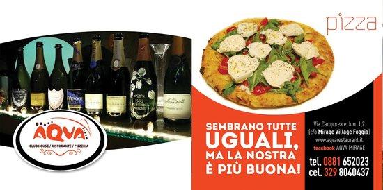 Ristorante Pizzeria AQVA: la pizza