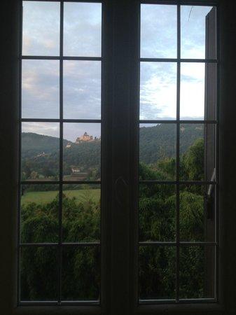 Le Lys de Castelnaud: from the window