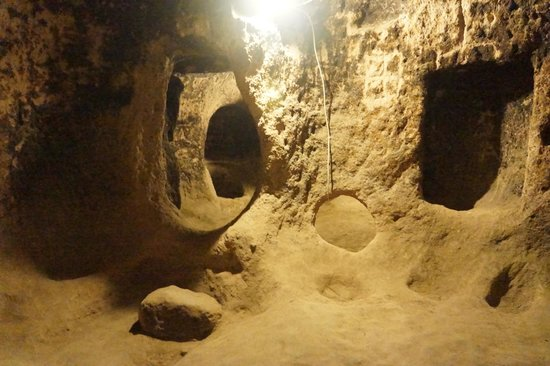 Mazi Underground City: Underground rooms and passages