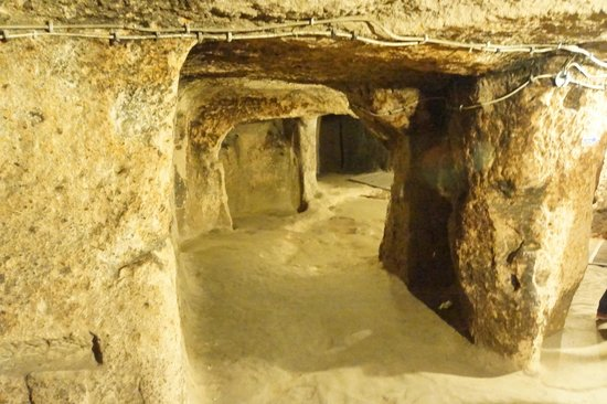 Mazi Underground City: Rooms