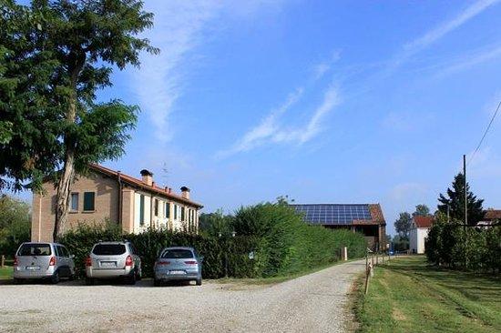 Agriturismo alla Casella: Parking area of Alla Casella