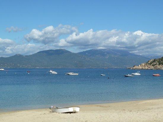 Hôtel Le Ressac : plage de Campo Moro