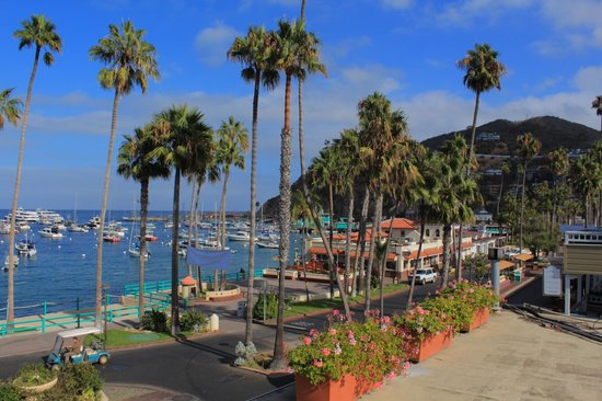 Portofino Hotel: View from guest balcony