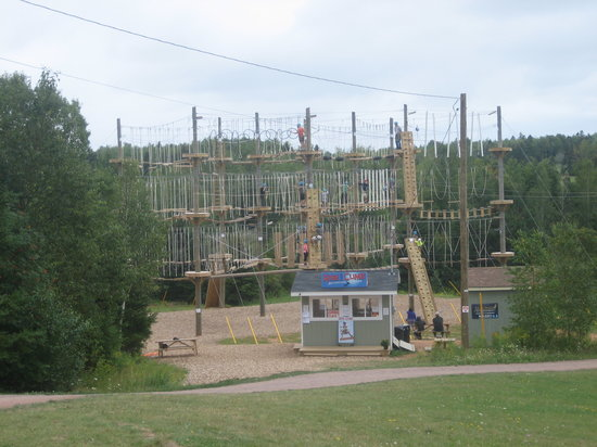 Rise and Climb Adventure Course: Rise & Climb