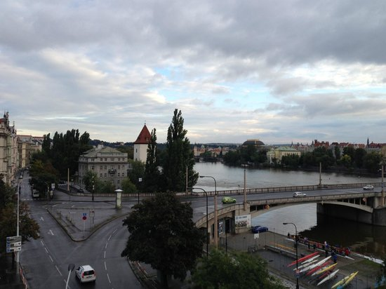 Mamaison Riverside Hotel Prague: View from our room at Ma Maison Hotel in Prague