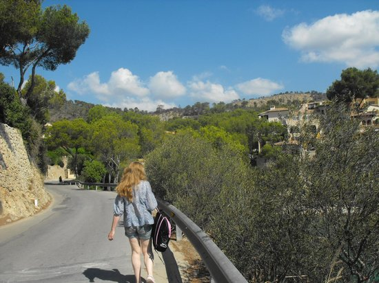 BQ Hotel Maria Dolores: Beautiful walk to Cala Fornells