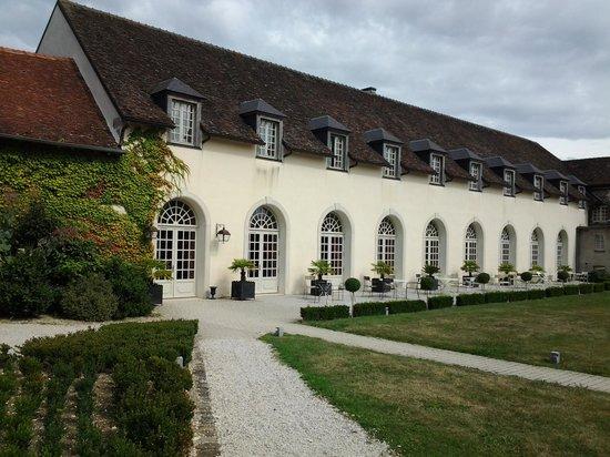 Château d'Etoges : Das Restaurant in der Orangerie
