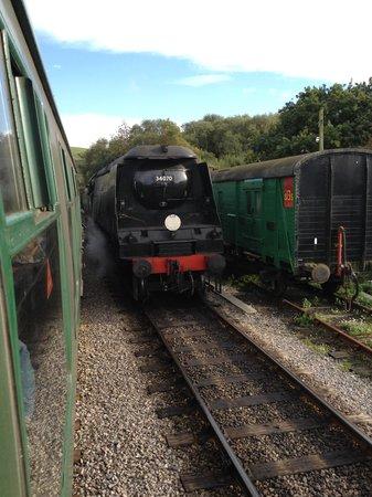 Swanage Railway: train