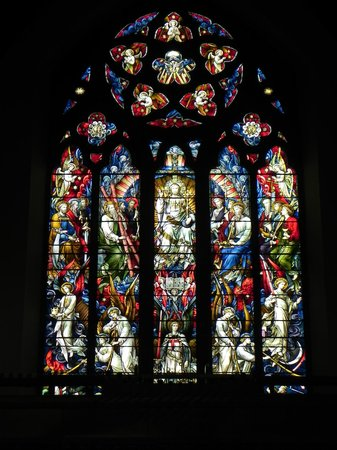 Inverness Cathedral: St. Andrew's Cathedral - window